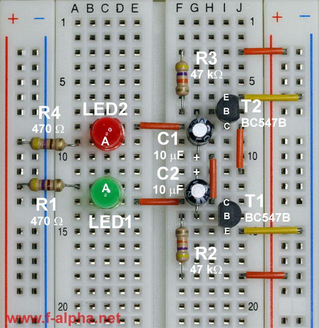 circuit_astable_multivibrator_web f alpha net experiment 8 astable mv blinker circuit diagram at mifinder.co
