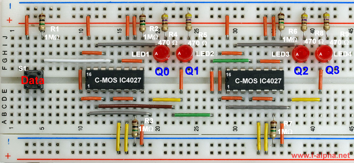 Ring Counter Using Ic