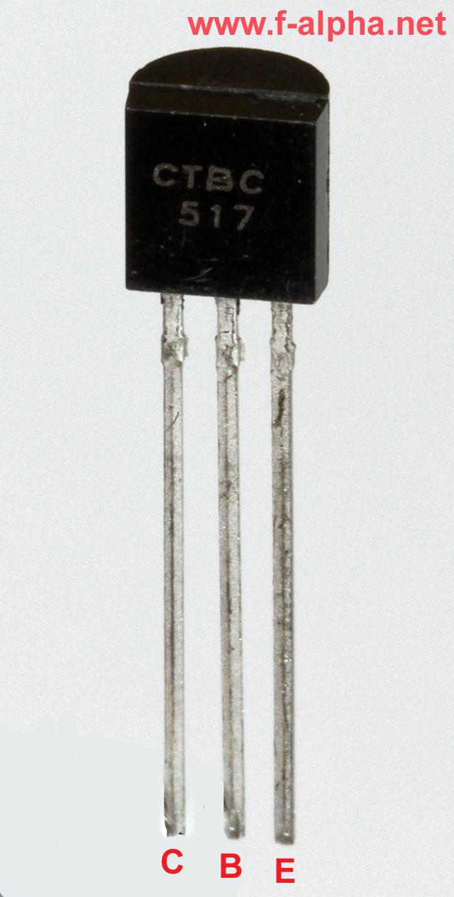 F Alphanet Bc 517 Circuit Darlington Transistor A Bc517